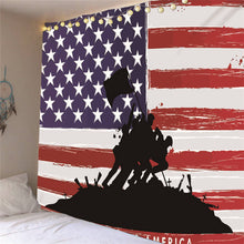 Load image into Gallery viewer, Hanging Patriotic American USA Tapestry