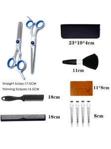 12 PCS Hair Cutting Scissors Set