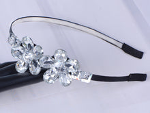 Load image into Gallery viewer, Decorative Vintage Diamond Jeweled Butterfly Hair Piece Headband ()
