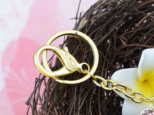 Sparkling Horse Key Chains For Women Girls Gifts Car Purse Animal Pendant Charms??Pink???