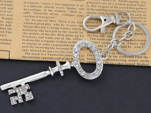 Old Ed Skeleton Key Keychain