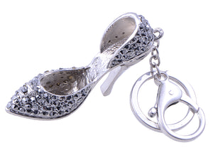 Lady's High Heel Shoe Women Bag Refinement Keychain