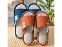 Load image into Gallery viewer, Home Slippers | Cotton & Linen