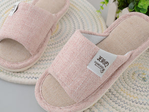 Home Slippers | Cotton & Linen