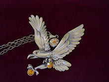Load image into Gallery viewer, Hunting Hawk Flying Eagle Pendant D Freedom Necklace