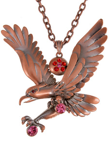 Hunting Hawk Eagle Necklace Pendant