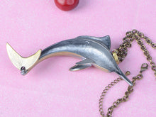 Load image into Gallery viewer, Stunning Jumping Swordfish Necklace Pendant