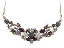 Load image into Gallery viewer, Antique Pearl Gemss Necklace