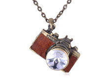 Load image into Gallery viewer, Vintage Like Retro Camera Pendant Necklace