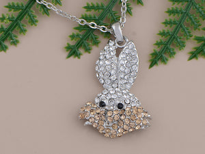 Bugs Bunny Rabbit Pendant Necklace
