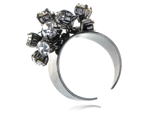 Fancy Fun Gun Cluster Party Disco Ring