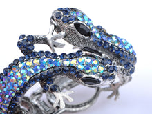 Load image into Gallery viewer, Multi Colored Lizard Gecko Salamander Bracelet Bangle Cuff