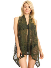 Load image into Gallery viewer, Anna-Kaci Womens Fringe Sequin Strap Backless 1920s Flapper Party Mini Dress