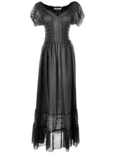 Load image into Gallery viewer, Renaissance Boho Lace Maxi Dress