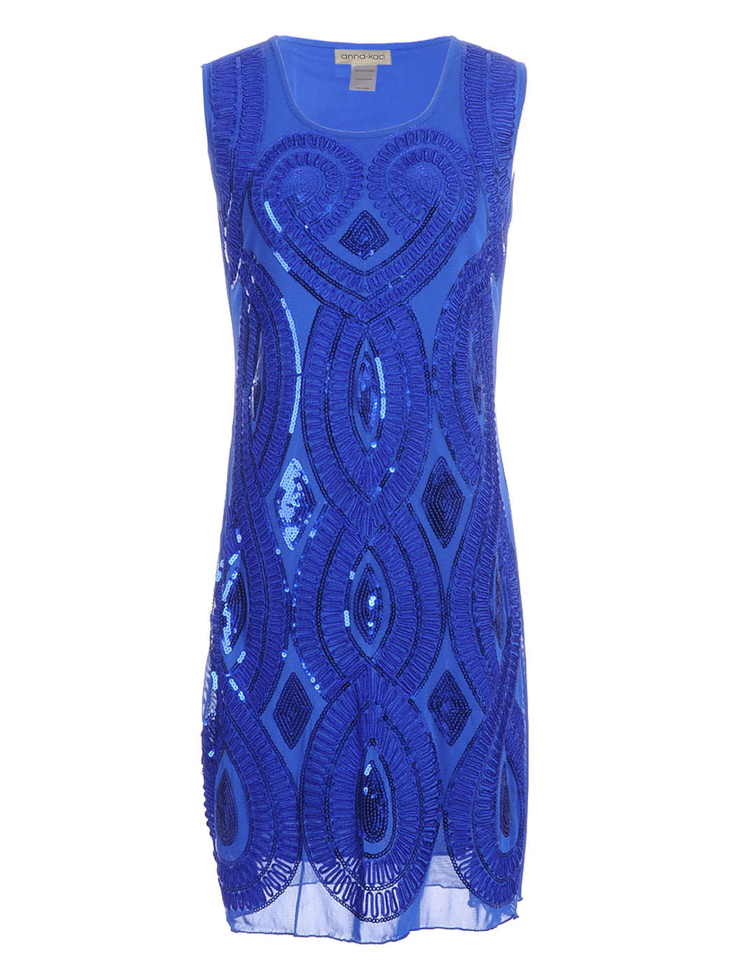 Great Gatsby Art Deco Sleeveless Dress