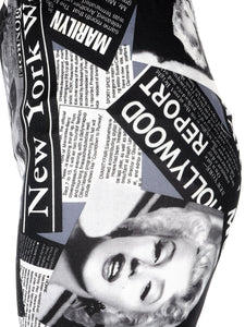 Marilyn Monroe Newspaper Leggings