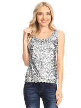 Load image into Gallery viewer, Glitz and Glam Sequin Dressy Top