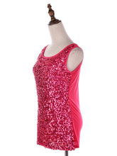 Load image into Gallery viewer, Sparkle and Shine Sleeveless Top