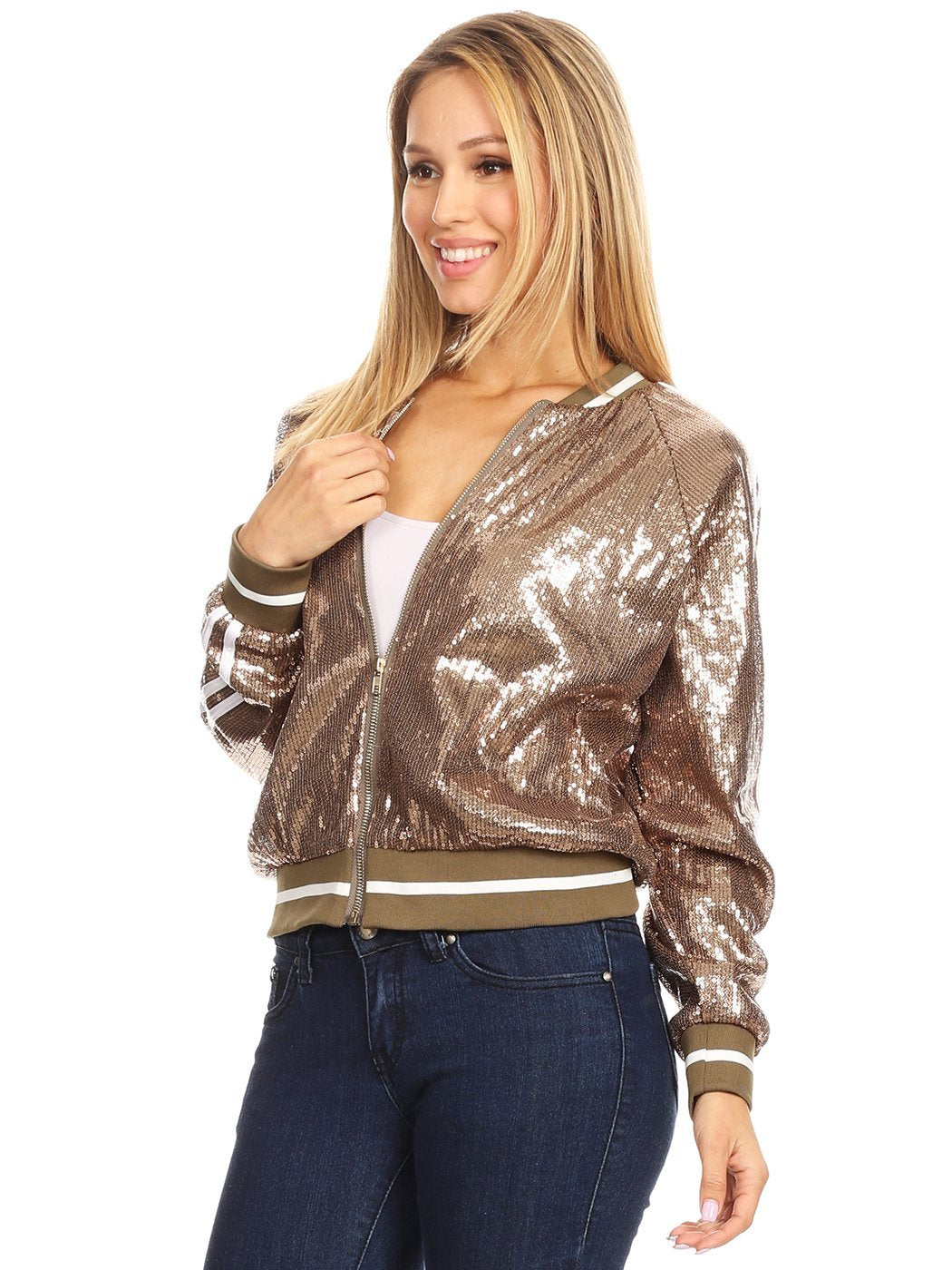Glittery Sequin Jacket