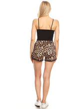 Load image into Gallery viewer, Anna-Kaci High Waist Cheetah Leopard Casual Lounge Shorts, Brown, X-Large