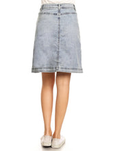 Load image into Gallery viewer, Button Up A-line Vintage Skirt