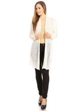 Load image into Gallery viewer, Casual Mesh Front Panel Cardi