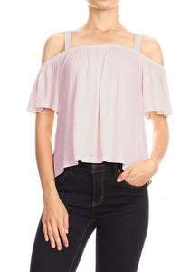 In Bloom Off Shoulder Blouse