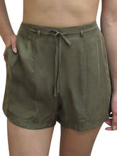 Load image into Gallery viewer, High Waisted Formal Belted Shorts