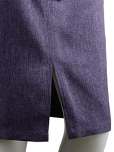 Load image into Gallery viewer, Chambray High-Waist Pencil Skirt