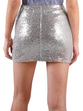 Load image into Gallery viewer, Short Sequin Mini Club Skirt