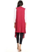 Load image into Gallery viewer, Waterfall Cardi Vest
