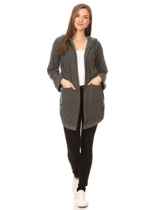 Causal Lightweight Hoodie Cardigan Sweater