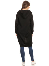 Load image into Gallery viewer, Oversized Hoodie Sweater Dress Jacket