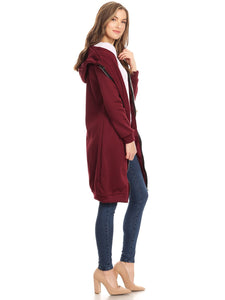 Oversized Hoodie Sweater Dress Jacket