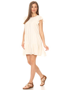 Casual Ruffle Summer Dress