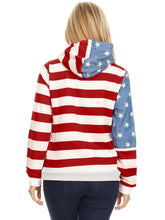 Load image into Gallery viewer, American Flag Hoodie Sweatshirt