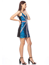 Load image into Gallery viewer, British Power Sequin UK Dress