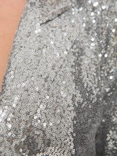 Load image into Gallery viewer, Evening Sparkle Sequin Blazer Jacket