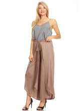 Load image into Gallery viewer, Boho High-Waist Split Wide Leg Capri