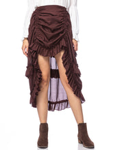Load image into Gallery viewer, Victorian Steampunk Costume Pirate Skirt