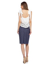 Load image into Gallery viewer, Knee-High Length Pencil Skirt