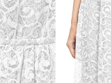 Load image into Gallery viewer, Casual Lace Floral Sleeveless Dress