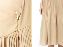 Load image into Gallery viewer, Spaghetti Strap Pleated Midi Dress
