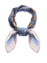 Load image into Gallery viewer, Silk Satin Floral Print Head Scarf