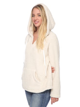 Load image into Gallery viewer, Fuzzy Sherpa Oversized Pullover Hoodie