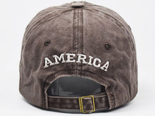 Load image into Gallery viewer, USA Flag Cap Washed Cotton Hat Unisex