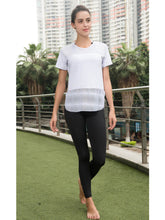 Load image into Gallery viewer, Workout Tops Short Sleeve Mesh Side Split Casual Loose Tank Tops