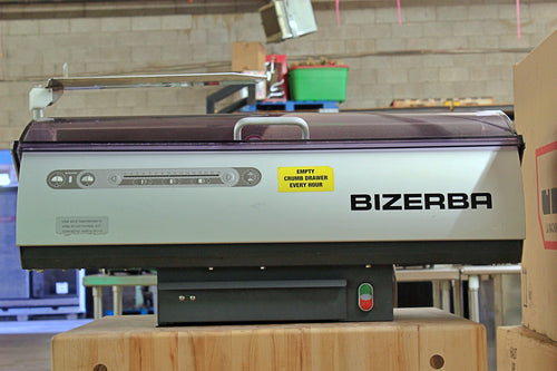 Bizerba BRS-38 Counter Top Bread Slicer
