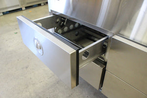 2017 Hussmann 8' Cold Food Service Case W/ Refrigerated Drawers (NEW)