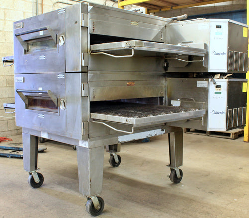 Lincoln Impinger Double Stack Conveyor Pizza Oven (2016)